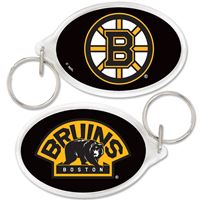 Picture of Boston Bruins Acrylic Key Ring Oval