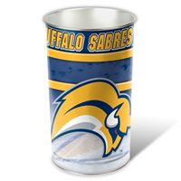 """Picture of Buffalo Sabres Wastebasket - tapered 15""""H"""