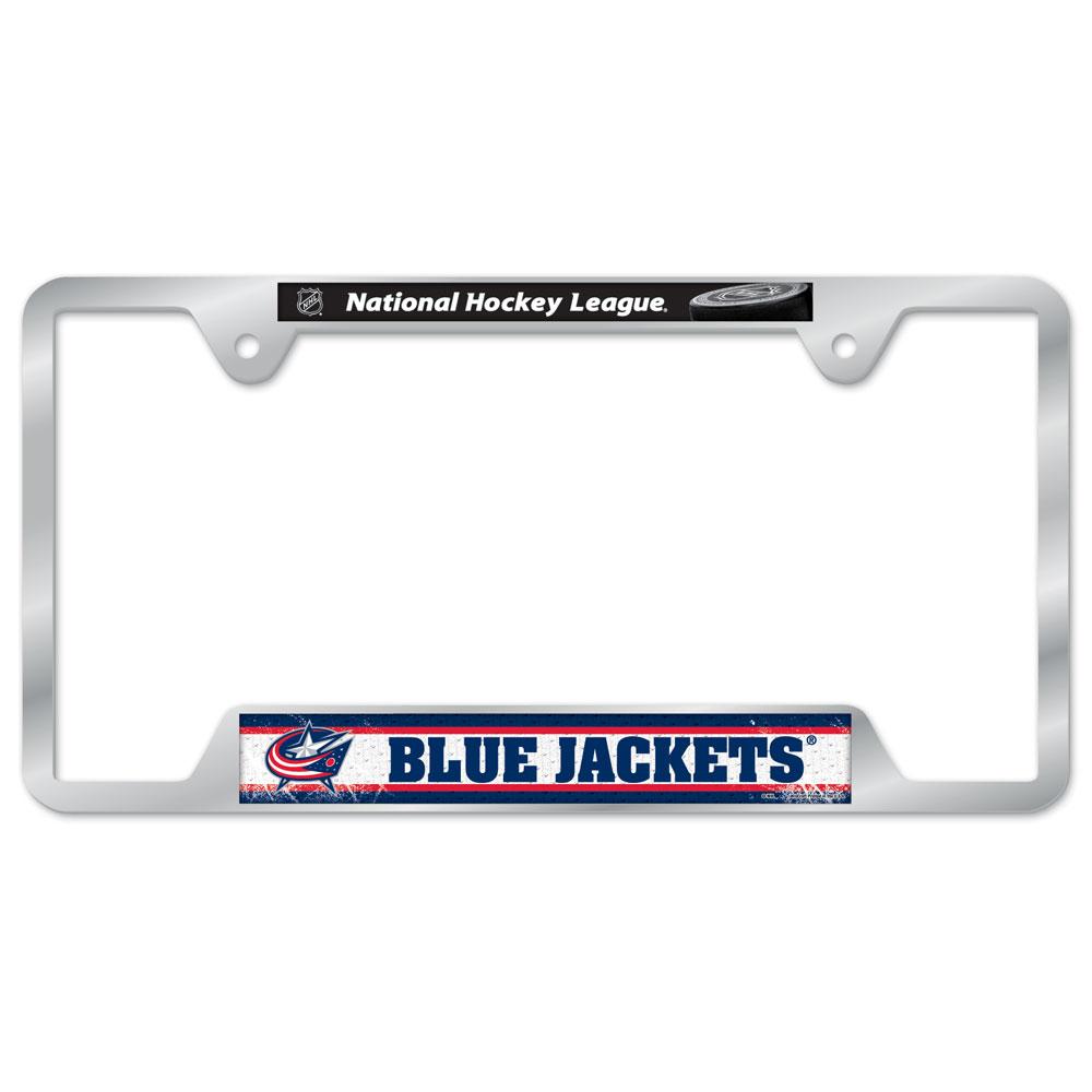 SETeamShop. Columbus Blue Jackets Metal License Plate Frame