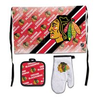 Picture of Chicago Blackhawks Barbeque Tailgate Set-Premium