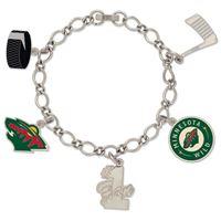Picture of Minnesota Wild Bracelet w/Charm Jewelry Carded