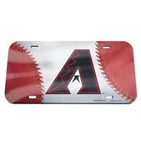 Picture of Arizona Diamondbacks Crystal Mirror License Plate