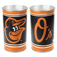 "Picture of Baltimore Orioles Wastebasket - tapered 15""H"