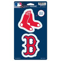 """Picture of Boston Red Sox 2 Pack Magnets 5"""" x 9"""""""