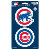 "Picture of Chicago Cubs 2 Pack Magnets 5"" x 9"""