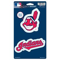 """Picture of Cleveland Indians 2 Pack Magnets 5"""" x 9"""""""
