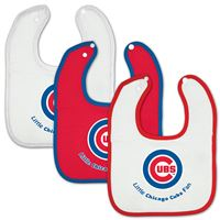 Picture of Chicago Cubs Baby Bib - 3pc set