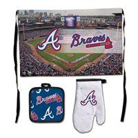 Picture of Atlanta Braves Barbeque Tailgate Set-Premium