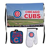 Picture of Chicago Cubs Barbeque Tailgate Set-Premium