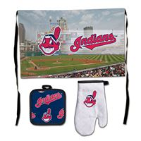 Picture of Cleveland Indians Barbeque Tailgate Set-Premium