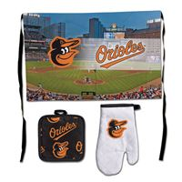Picture of Baltimore Orioles Barbeque Tailgate Set-Premium