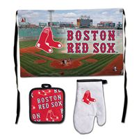 Picture of Boston Red Sox Barbeque Tailgate Set-Premium
