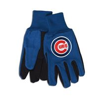 Picture of Chicago Cubs Adult Two Tone Gloves