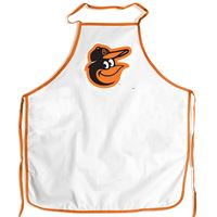 Picture of Baltimore Orioles Barbeque Aprons - white