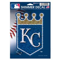 "Picture of Kansas City Royals Shimmer Decals 5"" x 7"""