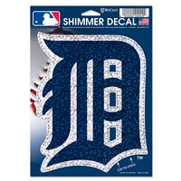 "Picture of Detroit Tigers Shimmer Decals 5"" x 7"""