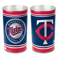 """Picture of Minnesota Twins Wastebasket - tapered 15""""H"""