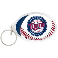 Picture of Minnesota Twins Acrylic Key Ring Carded Oval