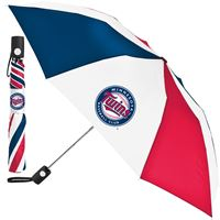 Picture of Minnesota Twins Auto Folding Umbrella