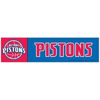 """Picture of Detroit Pistons Bumper Strip 3"""" x 12"""""""