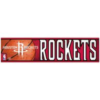 "Picture of Houston Rockets Bumper Strip 3"" x 12"""