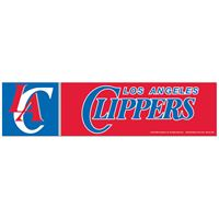 """Picture of Los Angeles Clippers Bumper Strip 3"""" x 12"""""""