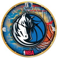"Picture of Dallas Mavericks Plaque HD Clock 18"" Dia"