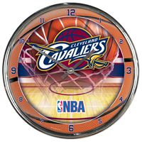 Picture of Cleveland Cavaliers Chrome Clock