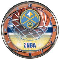 Picture of Denver Nuggets Chrome Clock