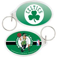Picture of Boston Celtics Acrylic Key Ring Carded Oval