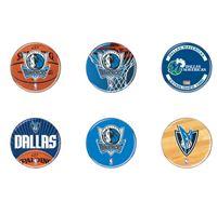"Picture of Dallas Mavericks Button 6 Pack 2"" Round"