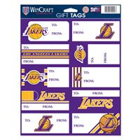 Picture of Los Angeles Lakers Gift Tag Sheet of 10