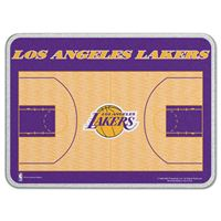 "Picture of Los Angeles Lakers Glass Cutting Board 11"" x 15"""