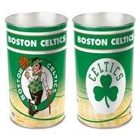 "Picture of Boston Celtics Wastebasket - tapered 15""H"