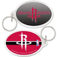 Picture of Houston Rockets Acrylic Key Ring Carded Oval