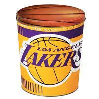 Picture of Los Angeles Lakers Gift Tin tapered 3 gallon