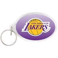 Picture of Los Angeles Lakers Acrylic Key Ring Oval