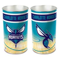 """Picture of Charlotte Hornets Wastebasket - tapered 15""""H"""