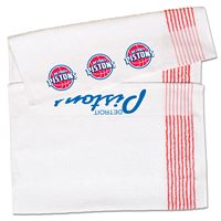 Picture of Detroit Pistons Ribbed Bench/Caddy Towel