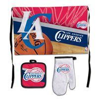 Picture of Los Angeles Clippers Barbeque Tailgate Set-Premium