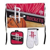 Picture of Houston Rockets Barbeque Tailgate Set-Premium