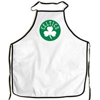 Picture of Boston Celtics Barbeque Aprons - white