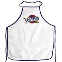 Picture of Cleveland Cavaliers Barbeque Aprons - white
