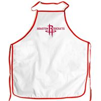 Picture of Houston Rockets Barbeque Aprons - white