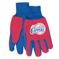 Picture of Los Angeles Clippers Adult Two Tone Gloves