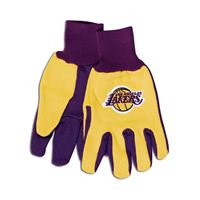 Picture of Los Angeles Lakers Adult Two Tone Gloves