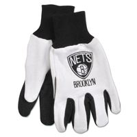 Picture of Brooklyn Nets Adult Two Tone Gloves