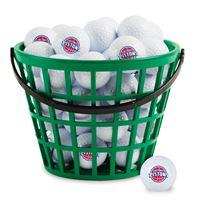 Picture of Detroit Pistons Bucket of 36 Golf Balls