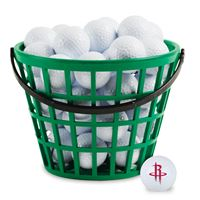 Picture of Houston Rockets Bucket of 36 Golf Balls