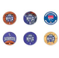 "Picture of Sacramento Kings Button 6 Pack 2"" Round"
